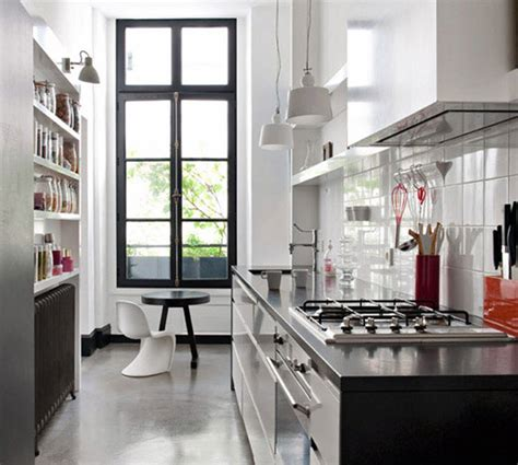 Parisian Kitchen Design Apartment Decor The Flat Decoration