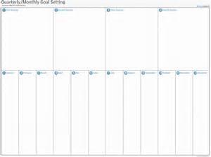 Goal Setting Calendar Template by Goal Setting For 2016 Template Calendar Template 2016