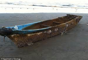 japanese fishing boat from tsunami japanese fishing boat carried 4 500 miles by tsunami