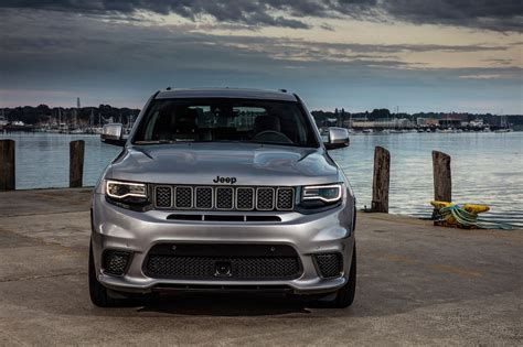 jeep trackhawk grey 2018 jeep grand trackhawk drive fastest