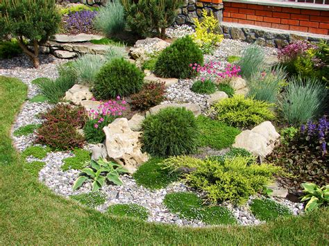 plant beds simple ways to beautify your garden with gravel pavers