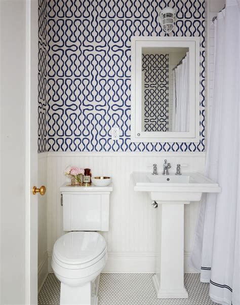 Bathroom Wallpaper Patterns 30 Gorgeous Wallpapered Bathrooms