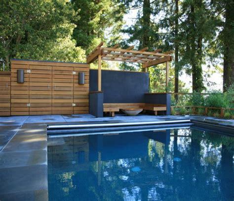 wooden deck pergola for swimming pool deck pergola