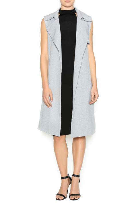 Sleeveless Trench Coat re named sleeveless trench coat from new orleans by s