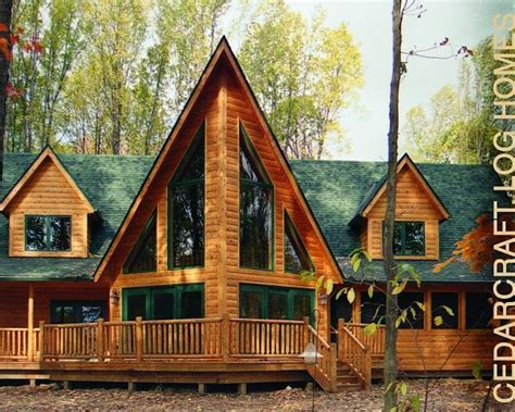 Log Cabin Builders In Ohio by Cedarcraft Log Homes