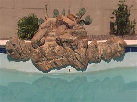 faux rock painting faux rock cleaning and faux painting in tucson pool tile