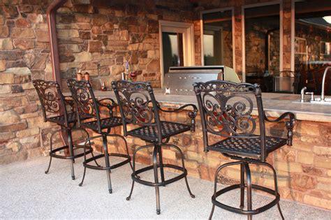 outdoor kitchen bar stools outdoor kitchen photo gallery