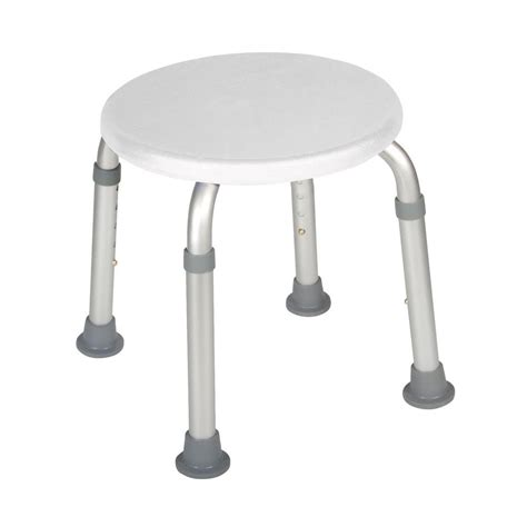 16 in resin bath stool in white iss215 the home depot