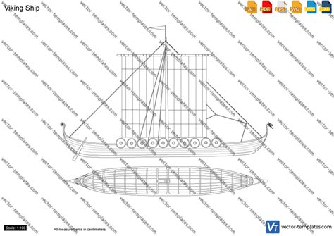 longboat template viking longboat model design