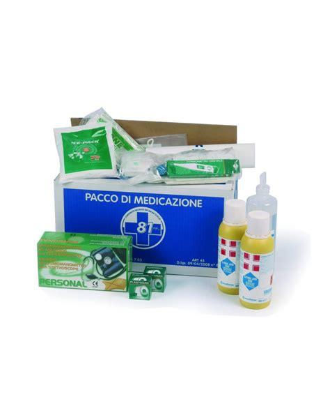 kit reintegro cassetta pronto soccorso pacco reintegro con misuratore di pressione pi 249 di tre