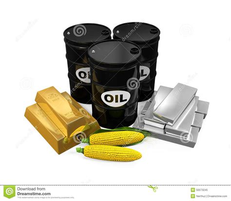 oil commodity commodities oil corn gold and silver stock