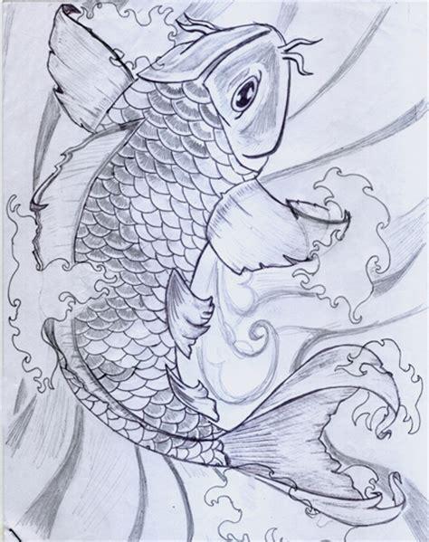 koi tattoo swimming up swimming koi by mubbamubba on deviantart