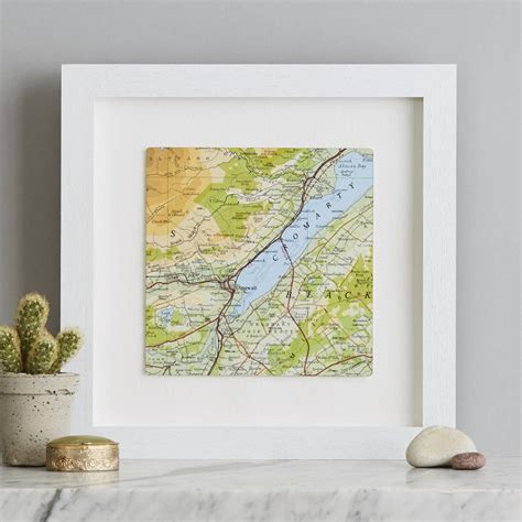 Wedding Anniversary Locations by Square Map Wedding Anniversary Location Print By Bombus