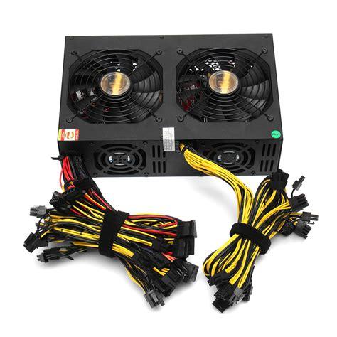 computer power supply fan 3450w miner power supply 140mm cooling fan atx 12v version