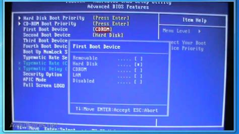 reset bios hp 8200 elite how to change first boot device in bios to boot from cd