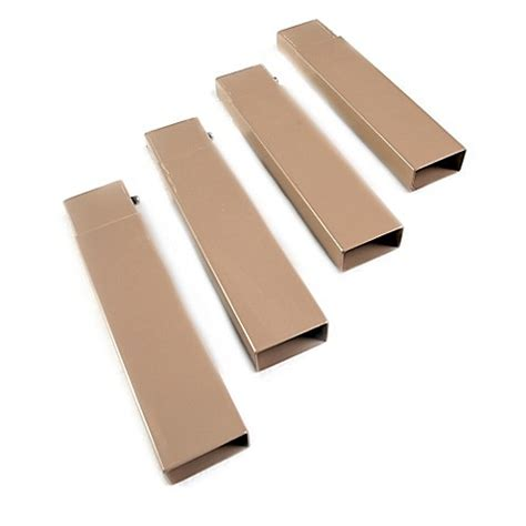 bed leg extenders buy disc o bed leg extensions in tan set of 4 from bed