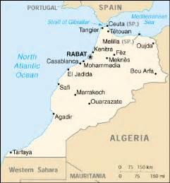 marokko le mappa marocco cartina geografica e risorse utili