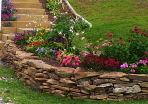 Rock Wall Garden Ideas An Overview Of Landscaping With Rocks