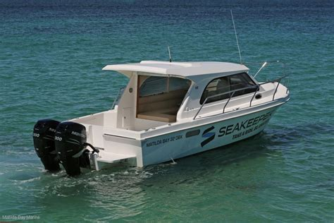 bay boats with twin outboards new matilda bay 32 ob twin outboard version stock boat