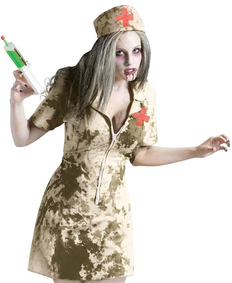 Nurse Party Decorations Dirty Nurse Zombie Costume