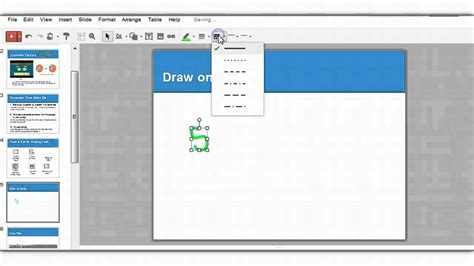 how to create doodle presentation draw on slide in presentation