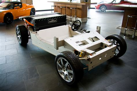 Tesla Chassis Tesla Roadster Chassis Tesla Roadster Chassis At The