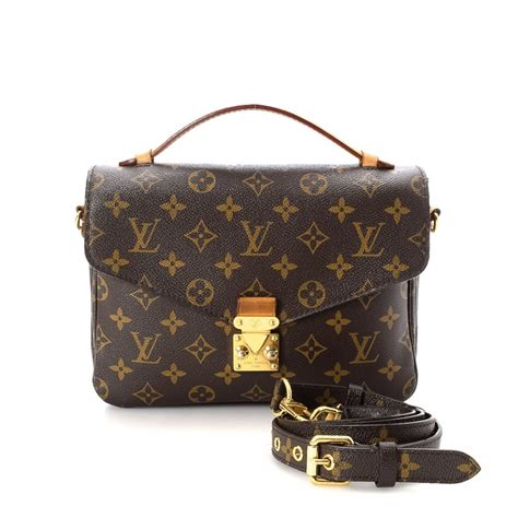 Lv Metis Pochete Semprem louis vuitton pochette metis monogram coated canvas lxrandco pre owned luxury vintage