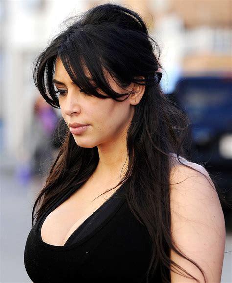 kim kardashian half up half down hairstyles hairstyles for the gym medium length hair inspiration for
