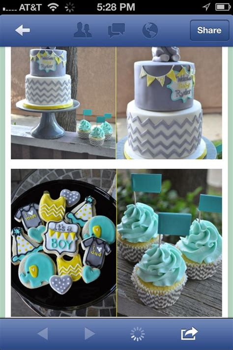 baby boy shower colors baby shower ideas
