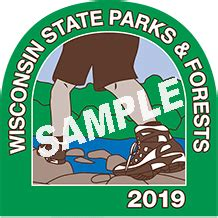 State Park Stickers