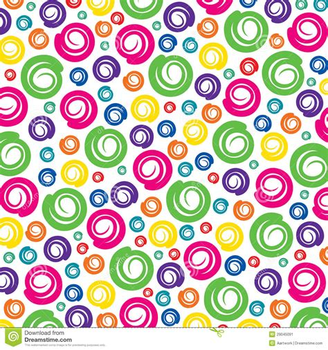 background vector pattern colorful colorful swirl pattern background stock vector