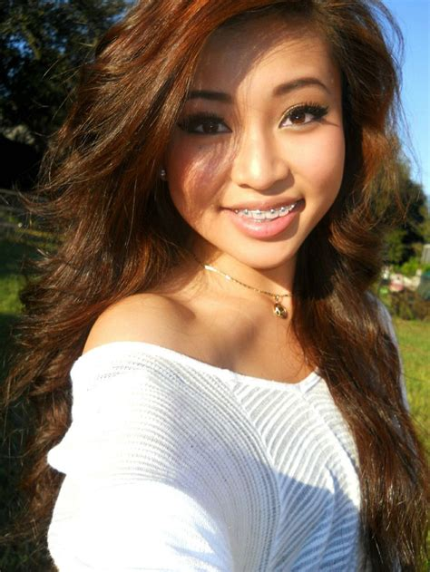 hairstyles for glasses and braces pretty asian girl with braces http babeswithbraces com