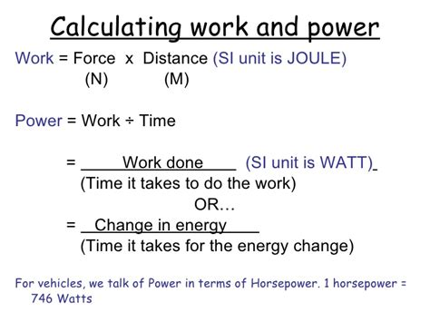 Calculating Work Worksheet Physical Science by Work And Power