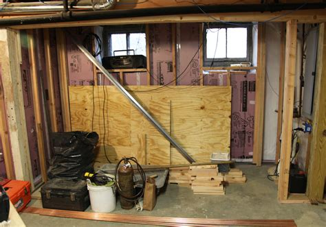 our basement part 25 stud walls and plumbing stately kitsch