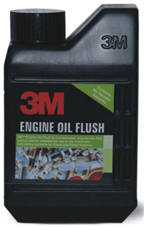 m.engine oil flush