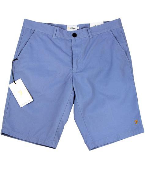 Pb Fairah farah berkley retro mod cotton twill multi pocket shorts polar