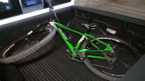 truck bed bike mount diy hitch or truck bed mounted bike carrier mtbr com