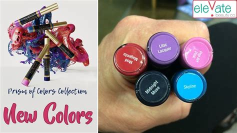 new color new lipsense colors prism of colors collection 2018