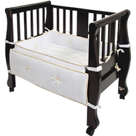 co sleeper in bed arm s reach sleigh bed co sleeper birth partner