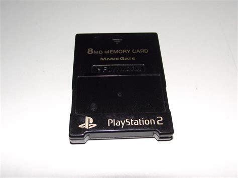 Memory Card Ps2 8mb fujiwork magic gate ps2 memory card preloved playstation 2 8mb ebay