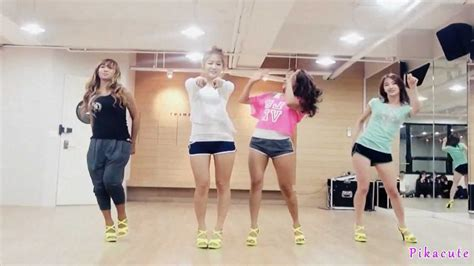tutorial dance sistar loving u sistar loving u mirrored dance practice youtube