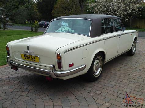 rolls royce silver shadow 1976 1976 white rolls royce silver shadow 1 wedding car