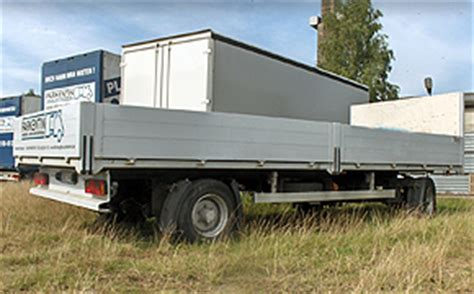 Anh Nger Mieten Rostock by Lkw Anh 228 Nger Pritsche Offen Mieten Fahrzeugbau Parkentin
