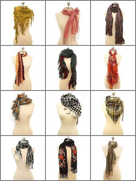 the girly tomboy scarf inspiration how to tie a scarf