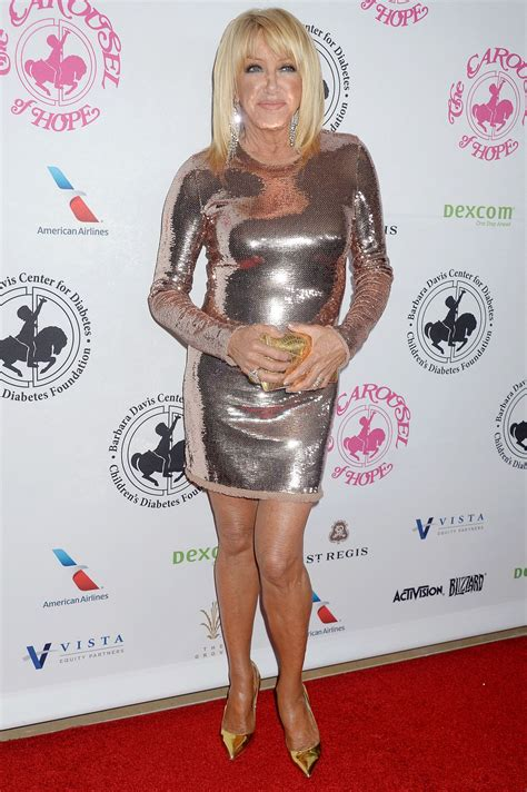 suzanne somers suzanne somers at carousel of hope ball in beverly hills