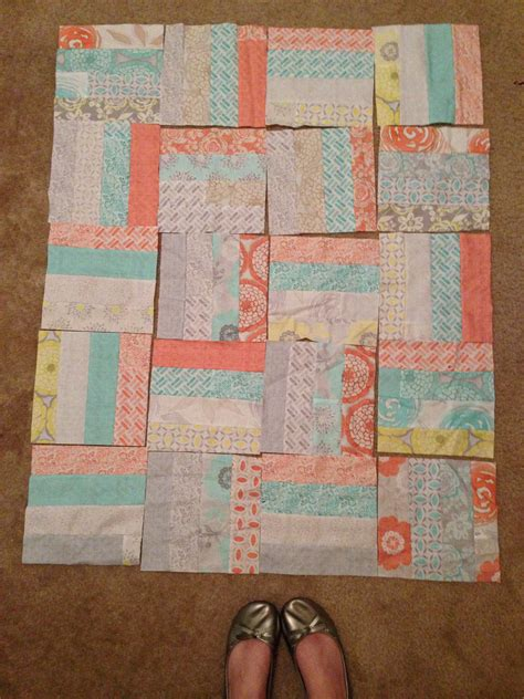 Jelly Roll Race Baby Quilt by Project One Jelly Roll Race Quilt Two Baby