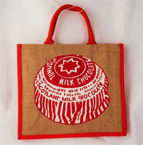 Jute Bag Decoration by Jute Bag With Tunnock S Teacake Decoration In Jute