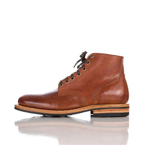 viberg boots lyst viberg service boot in italian horsehide in