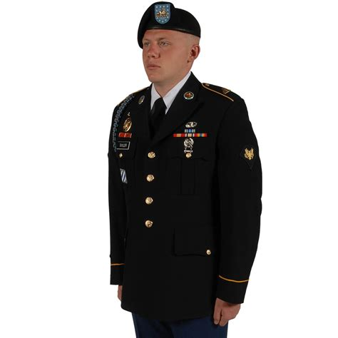 army dress blues regulations enlisted