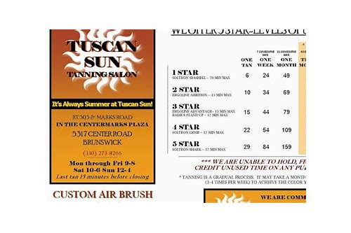 tuscan sun spa coupons